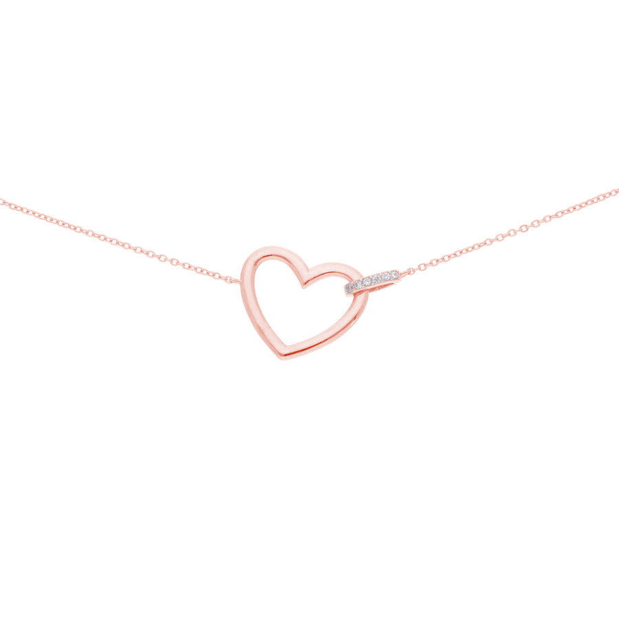 HEART BRACELET, ROSE GOLD
