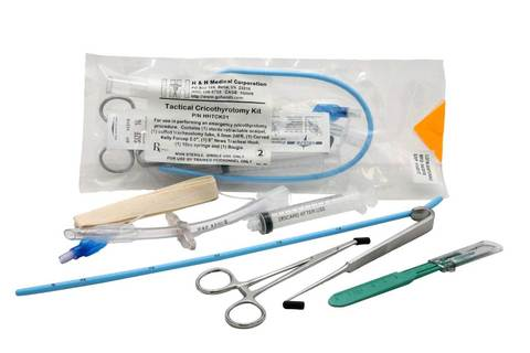 Emergency Cricothyrotomy Kit (Cric Kit)