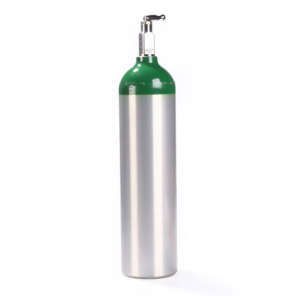 Allied Healthcare Aluminum Oxygen E-Cylinder