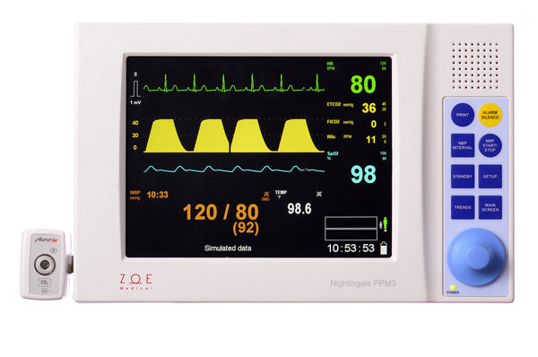 Zoe Medical Nightingale PPM3 with CO2