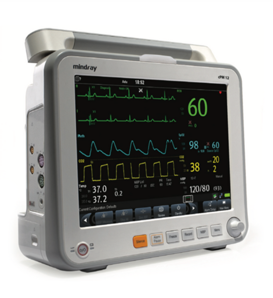 Mindray cPM 12 Patient Monitor without CO2