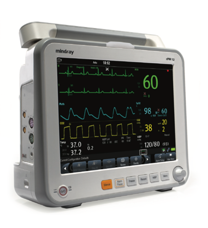 Mindray cPM 12 Patient Monitor with Masimo SPO2