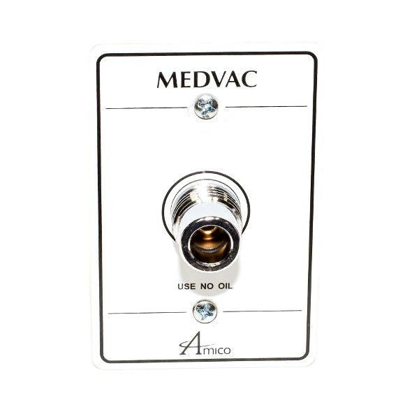 Amico Medical Vacuum Wall Outlet - DISS Style
