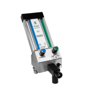 Belmed Flowmeter System with Telescoping arm