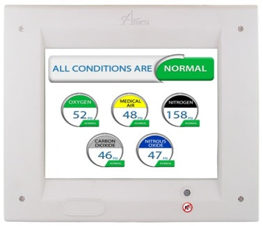 Amico Alert-3 LCD Area Alarm Panel for OXY, VAC