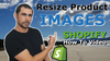 How to resize your product images