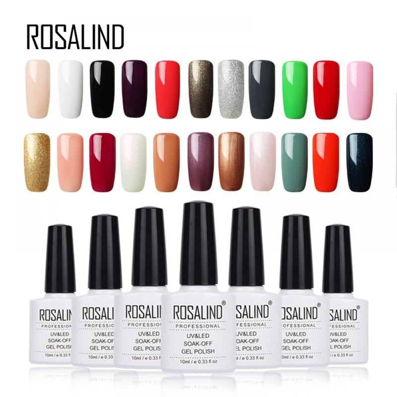 "ROSALIND GEL POLISH ""GREMANY IMPORT"""