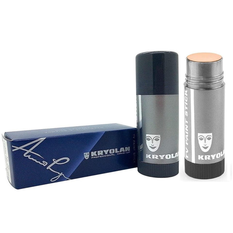 Kryolan professiona make up Tv paint stick.1w. 2w,3w ivory shades available