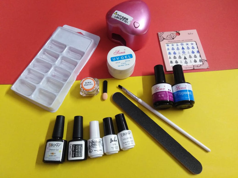 UV Gel Kit with Small UV lamp