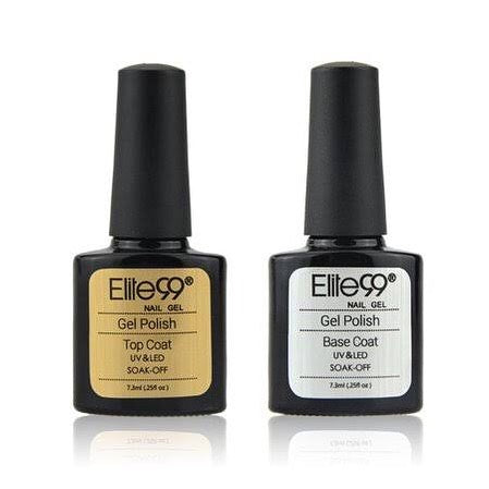 Nail base coat and top coat