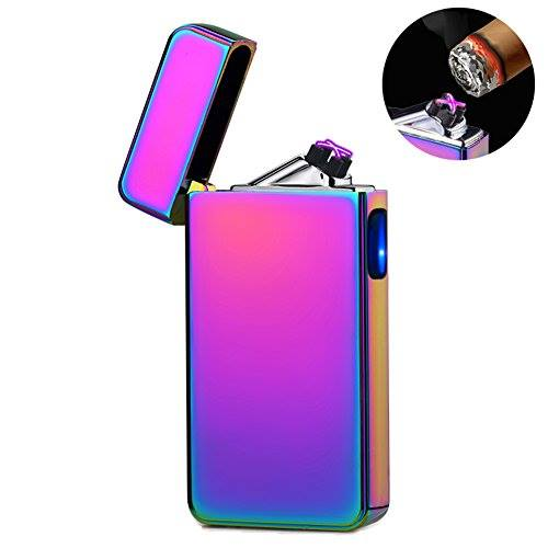 Rechargeable Double ARC USB Electric LIGHTER PULSE Flameless Plasma Torch.