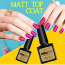 Azure Beauty Matte Top Coats UV LED Gel Nail Polish Soak Off Nails/8 ml