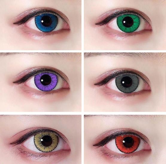 Contact Lenses Zero Big Circle by Taoqihou