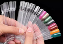 10 Pcs NAILS ART DISPLAY Sample Stick FAKE NAILS STICK NAIL POLISH UV GEL PRACTICE NAIL TIPS DISPLAY DECORATION MANICURE TOOLS