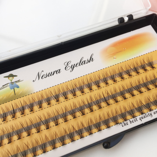 Soft Eyelash 12mm Extension nesura eyelash  Lashes Flase Eyelashes