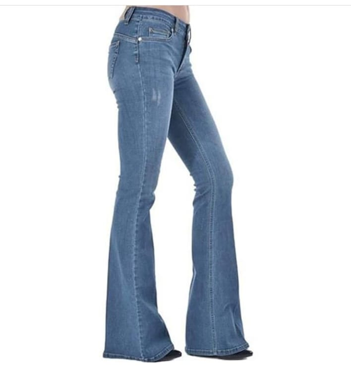 Women Flared denim jeans