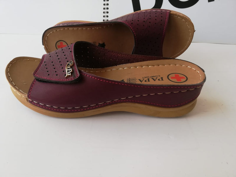 Women Casual Chappal Black and brown