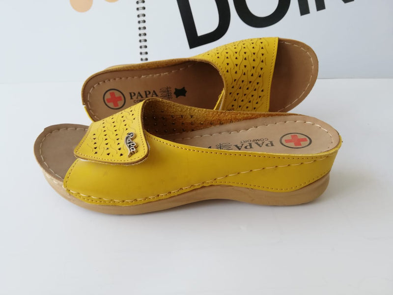 Women Casual Shoes yellow color