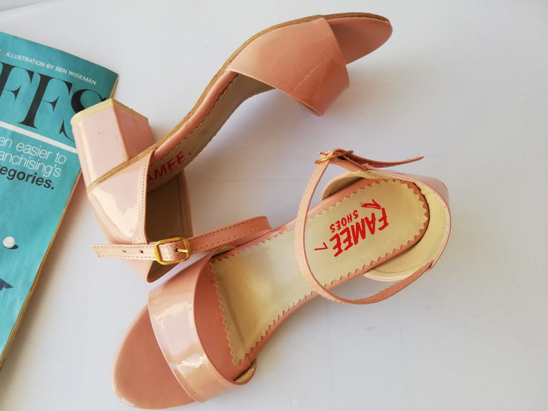 Block Heel Sandal For Women