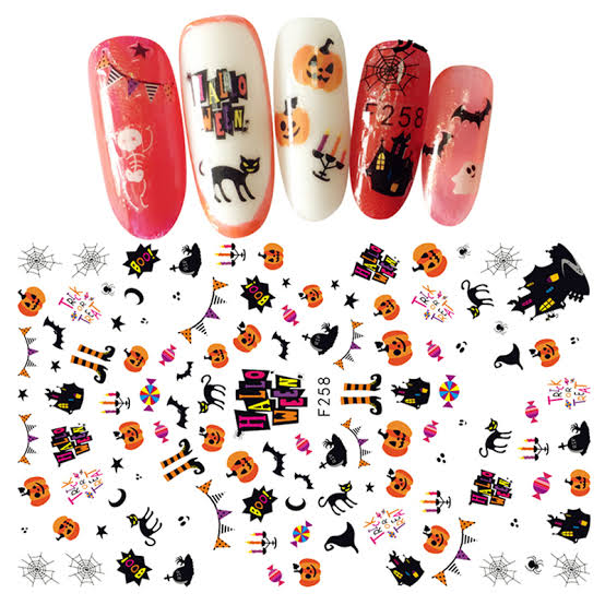 RT-F258 Nail Stickers