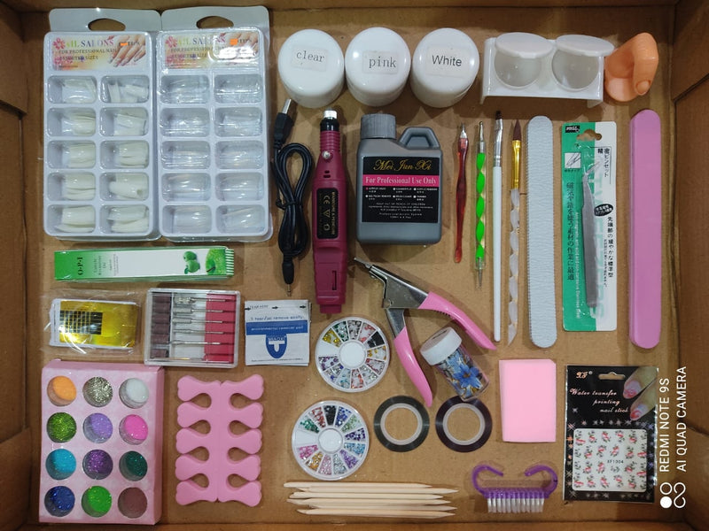 Acrylics Kit Professional or Home DIY 101