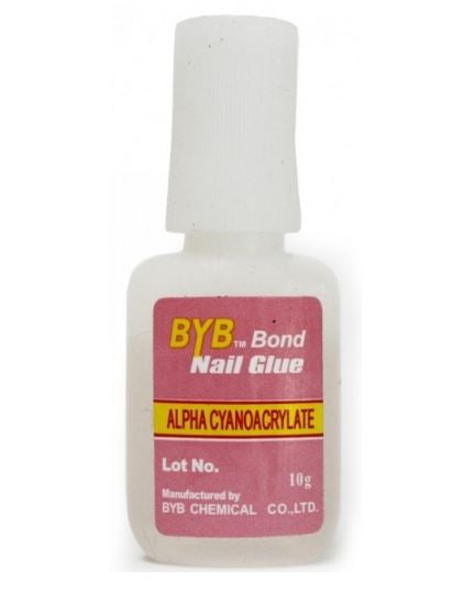 BYB bond 10g nail glue for nail tips and rhinestone