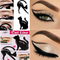 2Pcs Cat Eye Liner Makeup Stencil Design Eyeliner Stencil Models Eyebrow Eyes Liner Template Tool