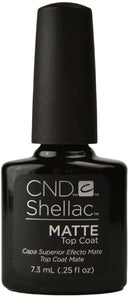 CND SHELLAC MATTE TOP COAT 7.3ml