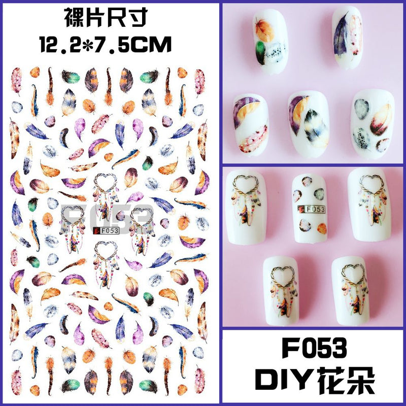 RT-F053 Nail sticker