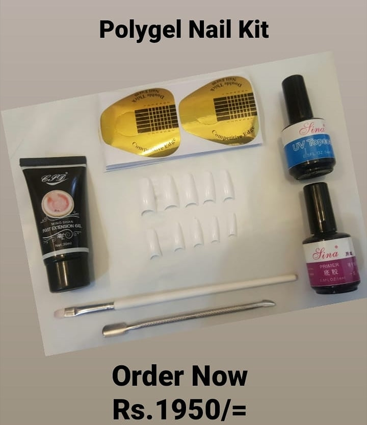 Polygel Nail Kit Nail art UV gel