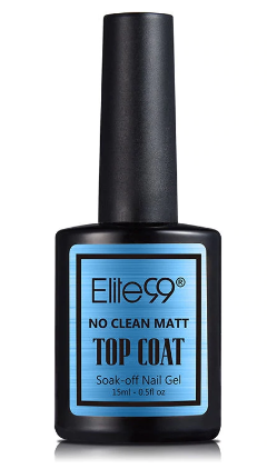 Elite No Clean UV Gel  Matt Top Coat 15 ml