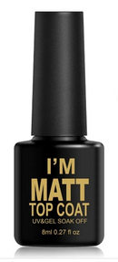 I'M MATT UV Gel TOP COAT 8ml