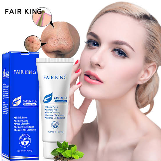 FAIR KING Green Tea Whitening Facial Cream Skin Care 40g