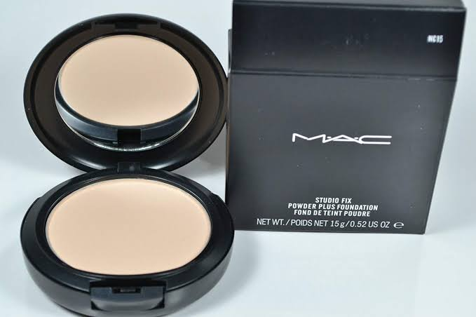 MAC Studio fix powder plus foundation.