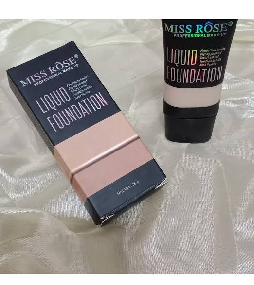 Miss Rose Professional liquid Foundation 35g