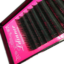 Eyelash Extensions 14/ 9 mm MixedFlat Eyelash Extension Individual Eyelashes Soft Application