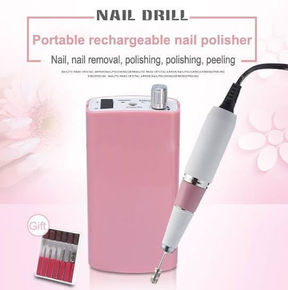 Rechargeable Nail Drill for professional Use