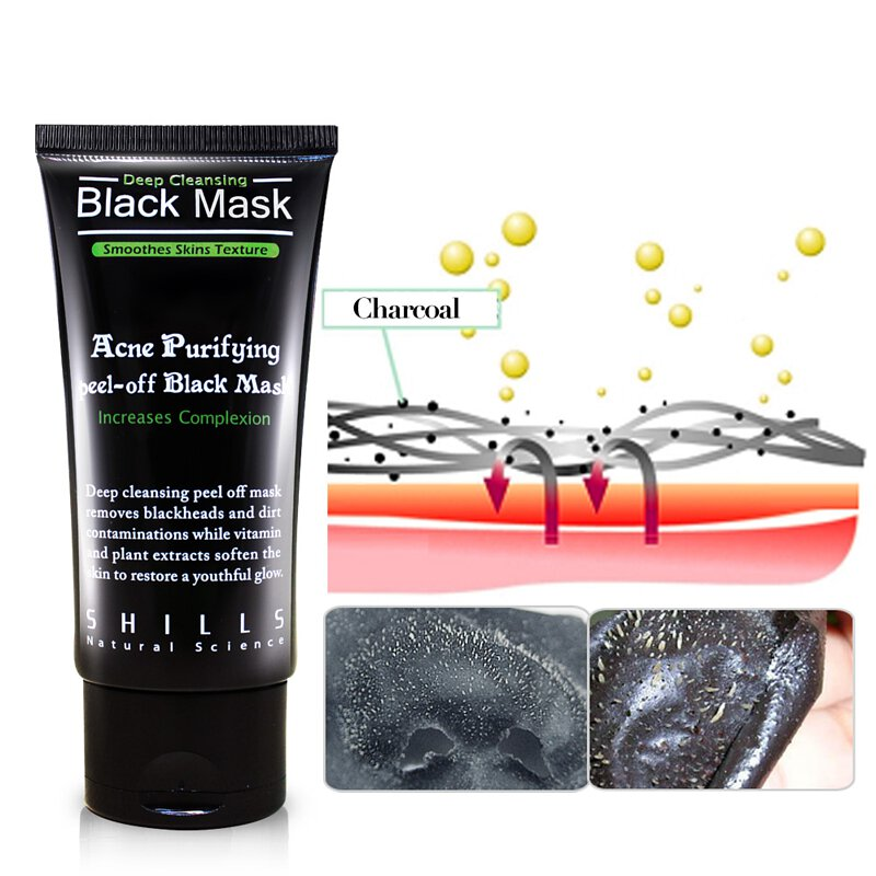 SHILLS Purifying Peel-off Black Mask Peel-off Black Heads-50 ML