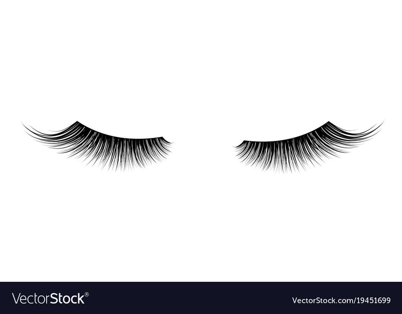 Single Eyelashes False