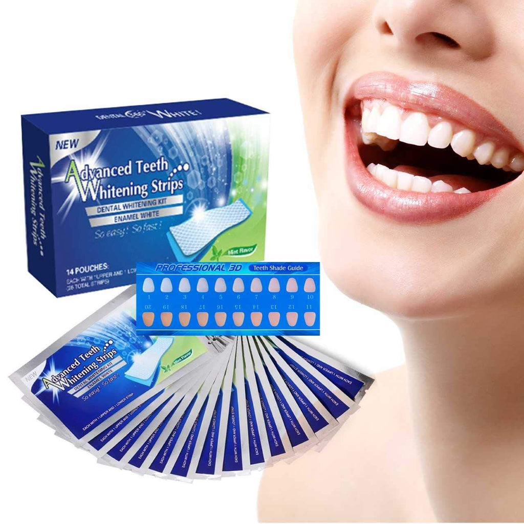 Advanced Teeth Whitening Strips Readytrays