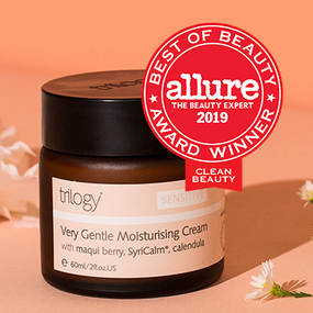 Trilogy Very Gentle Moisturising Cream wins at Allure Best of Beauty Awards 2019!