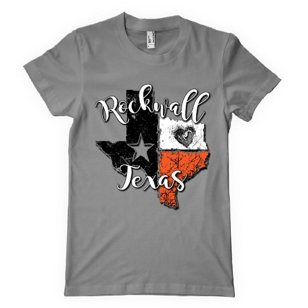 0105 SHORT SLEEVE GREY COMFORT COLOR ROCKWALL TEXAS