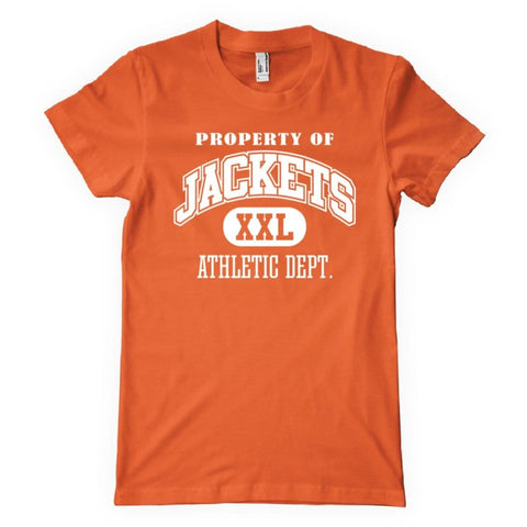 Property Of Jackets Athletic Dept.