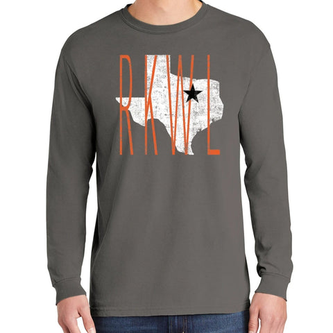 03110 ORANGE ROCKWALL TEXAS LONGSLEEVE