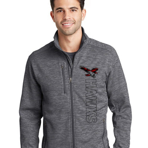 HEATH HAWKS ZIP UP JACKET