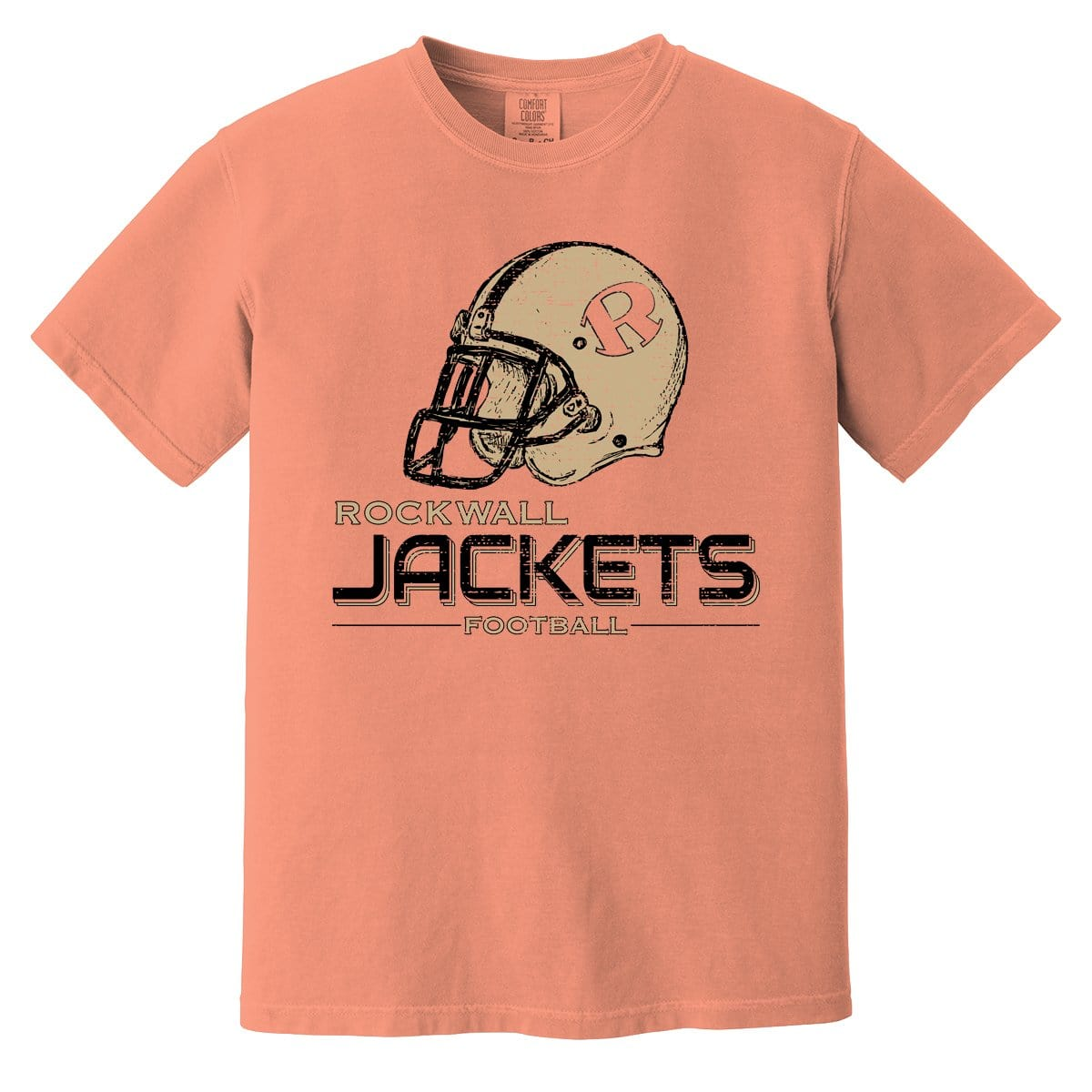Rockwall Jackets Football Helmet