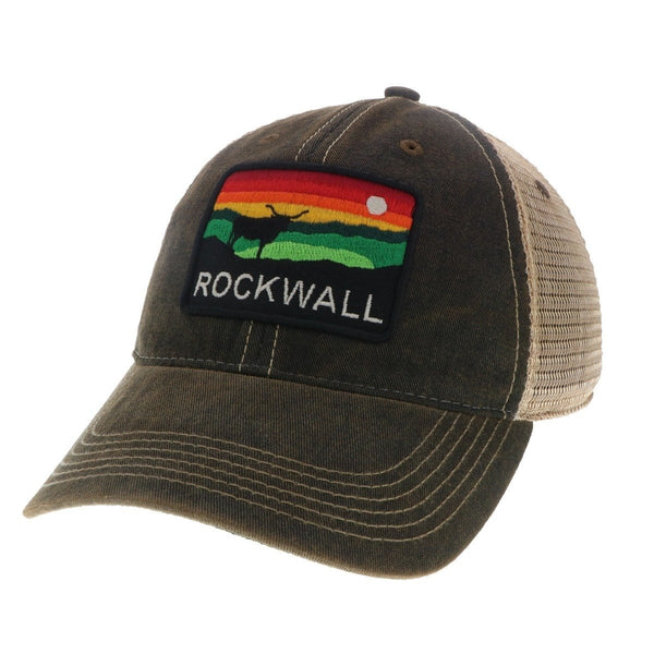 BLACK THE HORIZON HAT ROCKWALL