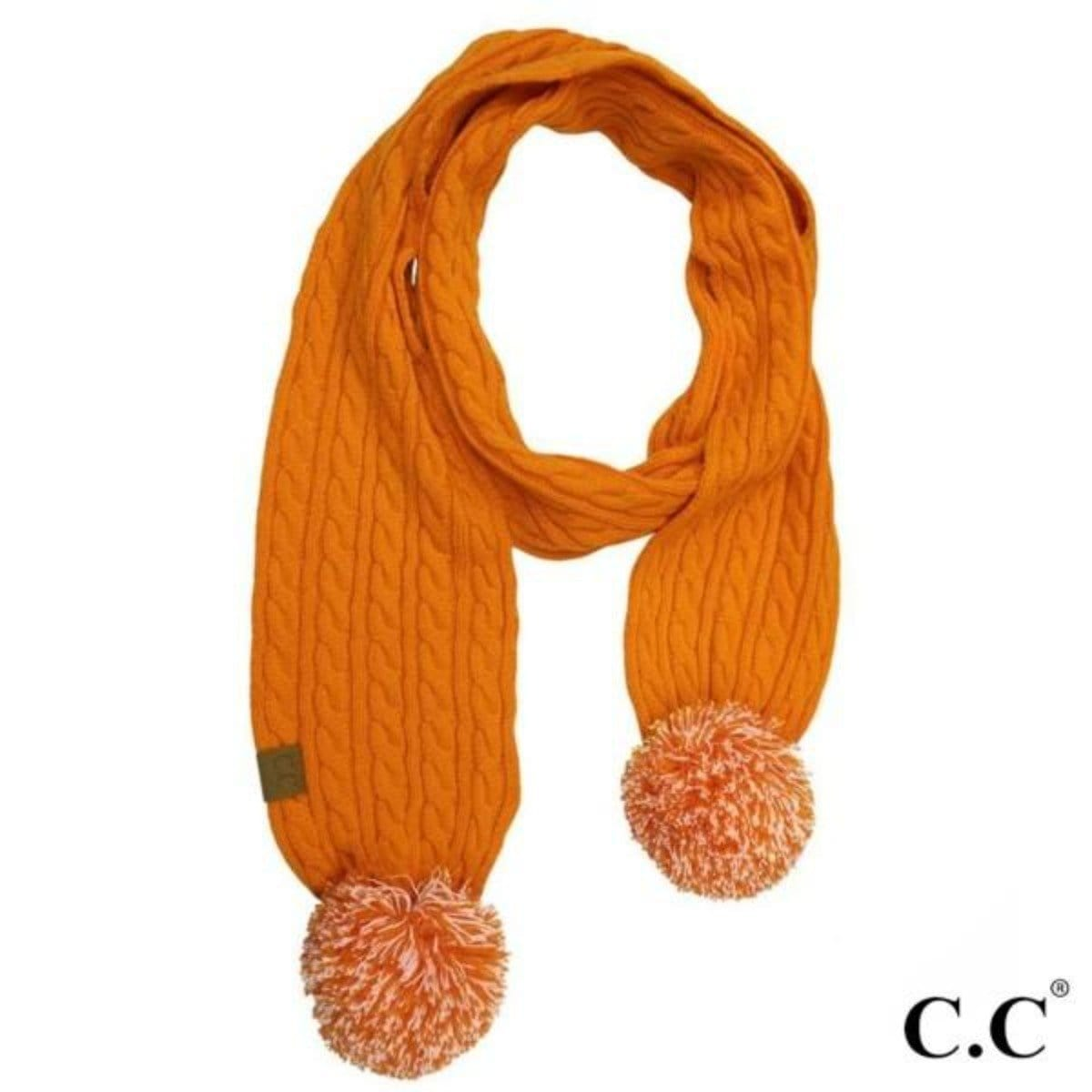 Game Day Pom Scarf