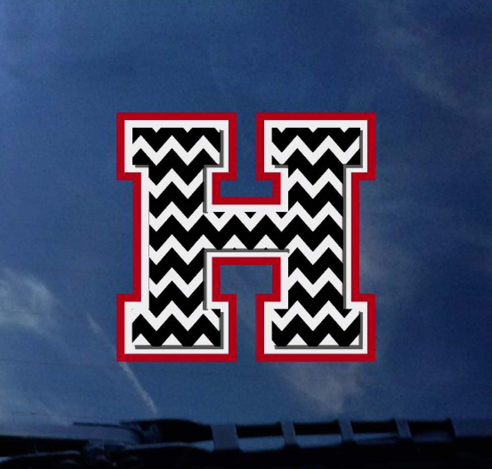 Heath Chevron Decal