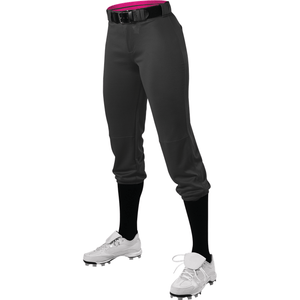 Alleson Girls Premium Belted Fastpitch Softball Pants